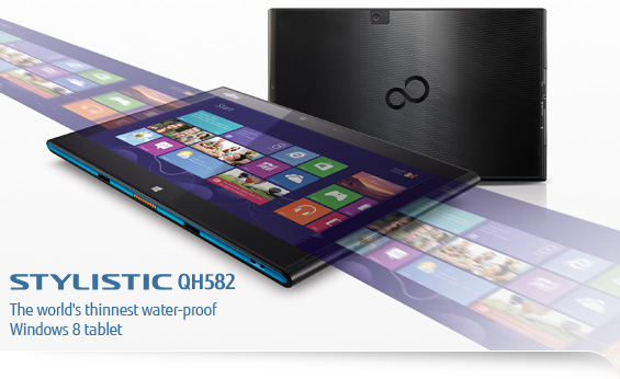 Fujitsu STYLISTIC QH582 Water-proof Windows 8 таблет