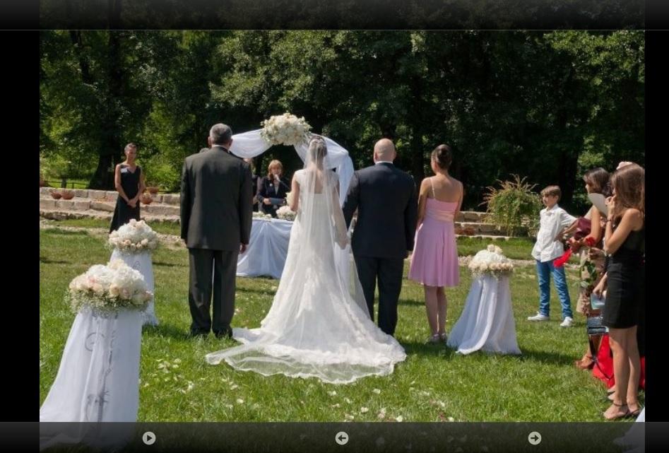 Уеб сайт за сватбена агенция