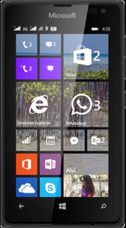 Microsoft Lumia 435 3G Black