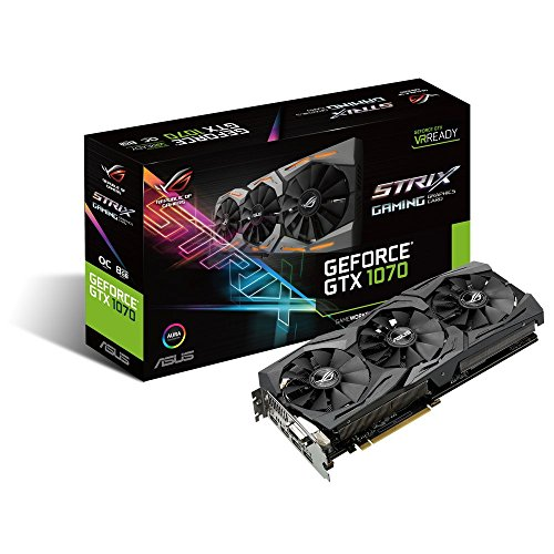 ASUS ROG Strix GeForce GTX 1070 – видео карта за VR gaming